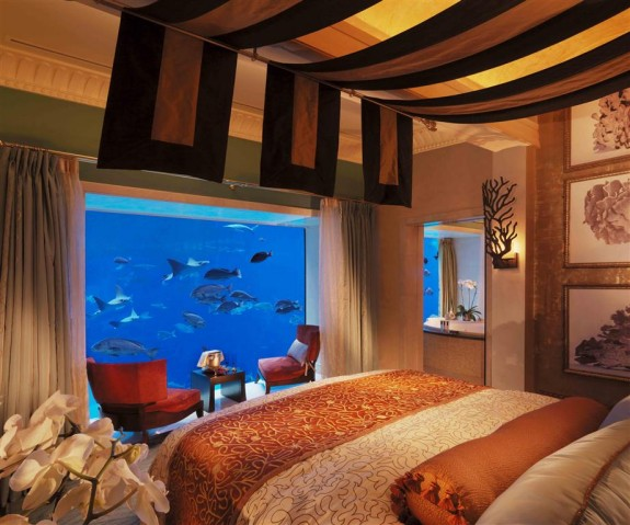 The worlds best honeymoon rooms for Best hotels in dubai for honeymoon