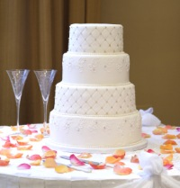 wedding cake display 2