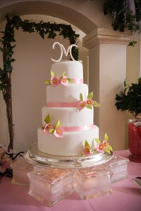 wedding cake display 1
