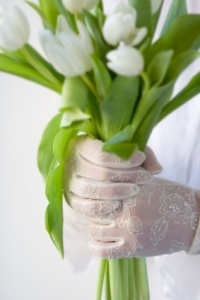 wedding gloves 2